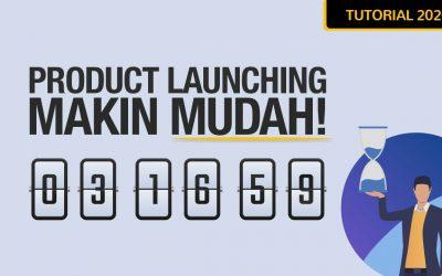 Cara Gunakan Fungsi Launch Countdown Dalam Ordersini