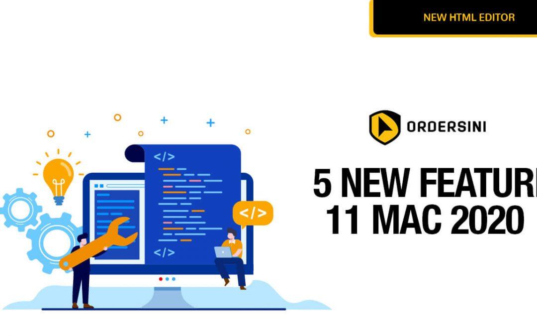5 Fungsi Terbaru Dalam Ordersini Yang Akan Gembirakan Peniaga Online & Affiliate Marketer