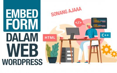 Cara Embed Form Ordersini Ke Web WordPress